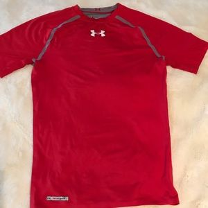 Under Armour Shirt Red Large
